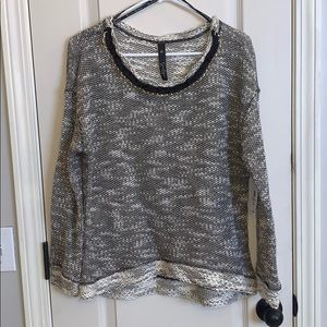 Jessica Simpson Kitsen Sweater with Chain Detail L